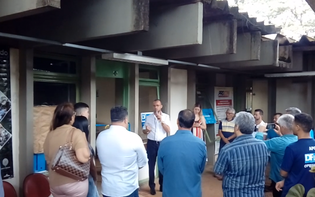 Inauguração do posto DF Legal
